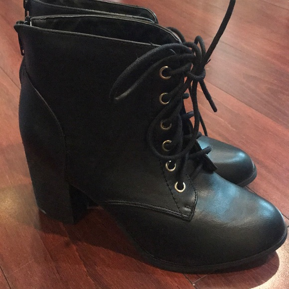 469f60d567 Diba Shoes | New Lace Up Heeled Boots | Poshmark